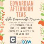 Fancy an Afternoon Tea at Clarington Museums?