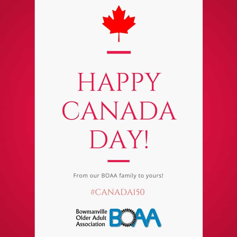 Happy Canada Day! #Canada150