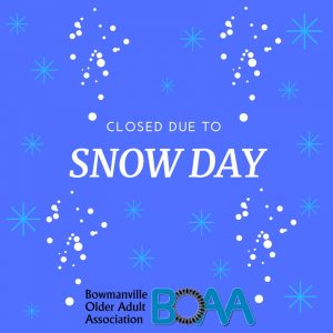 CLOSED – Snow Day at BOAA Friday December 22nd 2017