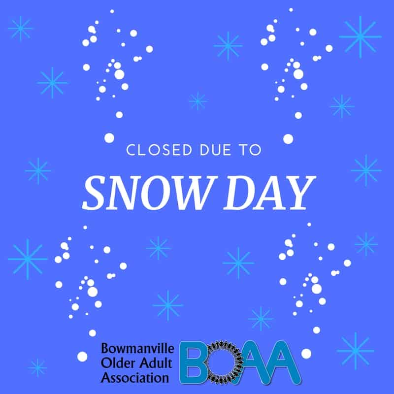 You are currently viewing CLOSED – Snow Day at BOAA Friday December 22nd 2017