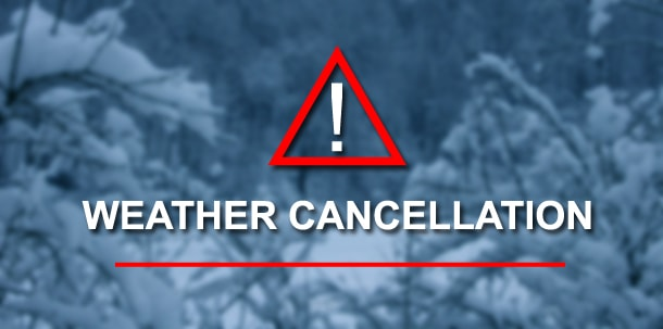 BOAA Inclement Weather Notice – Monday January 22nd