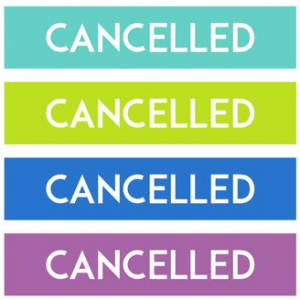 PROGRAM CANCELLATIONS – Wednesday June 13th