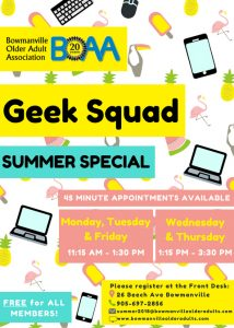 BOAA Geek Squad SUMMER SPECIAL!