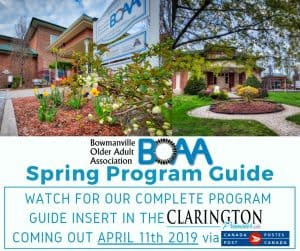 BOAA Spring Program Guide COMING SOON!