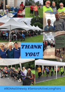 BOAA Open House & Seniors Active Living Fair SUCCESS!