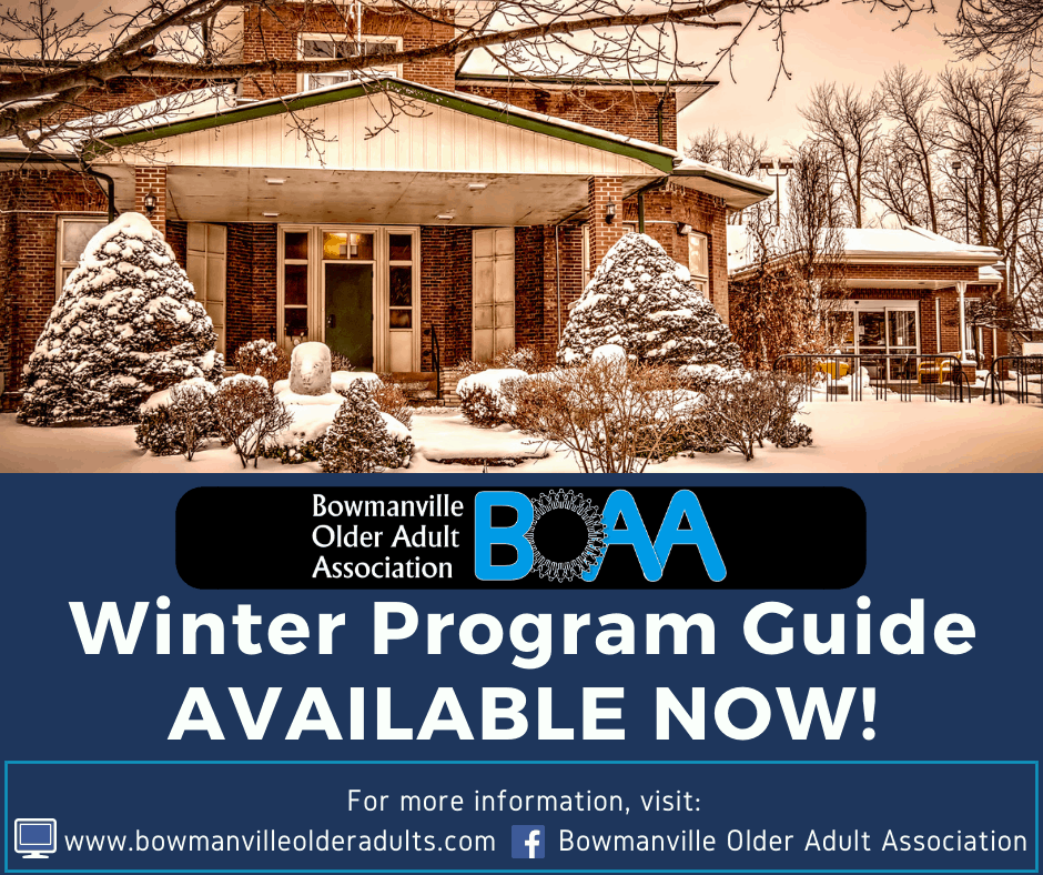 BOAA Winter Programs & REGISTRATION – OPEN NOW!