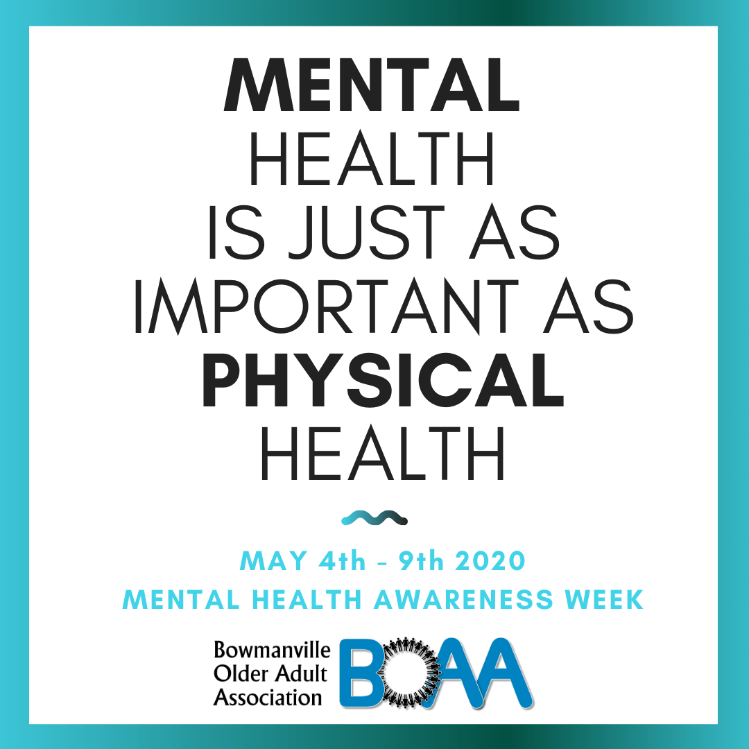 Support Available for Mental Health Week!