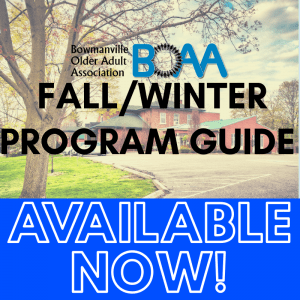 BOAA Fall & Winter Program Guide – AVAILABLE NOW!