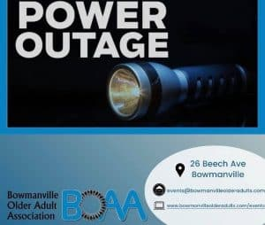 BOAA Current POWER OUTAGE – Wednesday November 25th 9 am