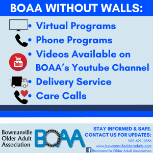 Read more about the article BOAA Without Walls – WE ARE HERE FOR YOU!
