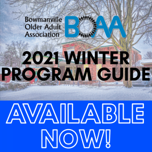 BOAA 2021 January & February PROGRAM GUIDE – NOW AVAILABLE