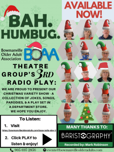 BOAA's 3rd RADIO PLAY for Christmas – CLICK HERE TO LISTEN!