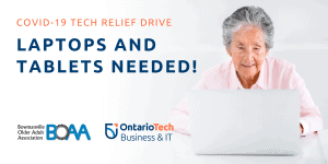 Read more about the article BOAA & Ontario Tech COMPUTER DRIVE!