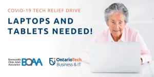 BOAA & Ontario Tech COMPUTER DRIVE!