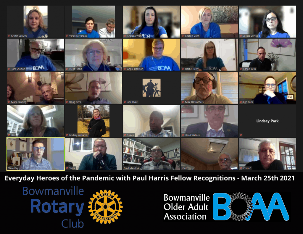 ✴️Team BOAA Recognized by Rotary Club of Bowmanville with Paul Harris Fellow! ✴️