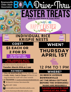 Easter Drive-Thru TREATS – ORDER NOW!🐰