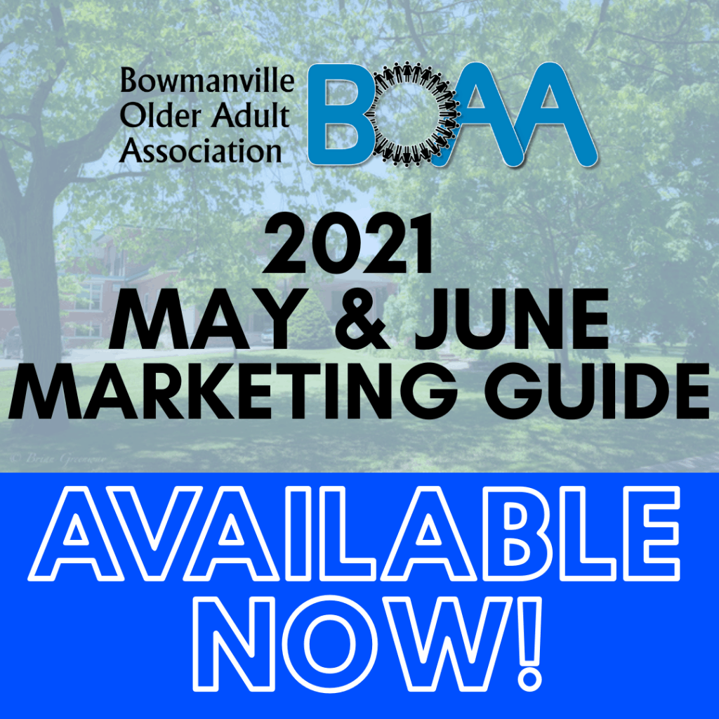BOAA 2021 May & June MARKETING GUIDE – NOW AVAILABLE