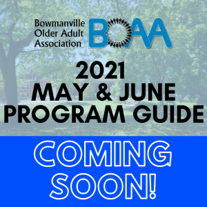 Read more about the article COMING SOON: May & June 2021 Programs & Events!