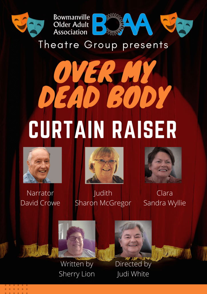 """BOAA Opening Night """"Over My Dead Body"""""""