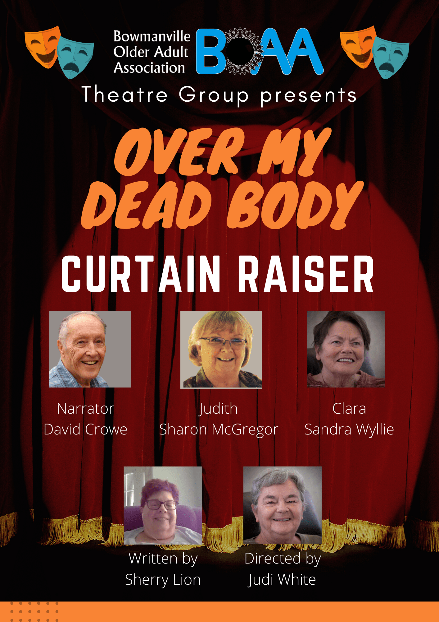 """You are currently viewing BOAA Opening Night """"Over My Dead Body"""""""